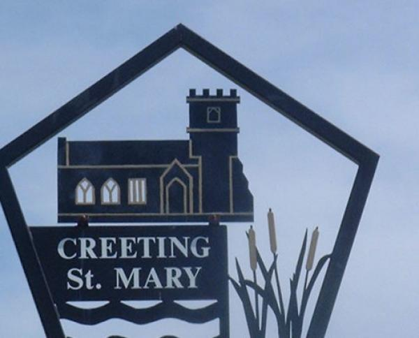 Creeting St Mary Village Sign